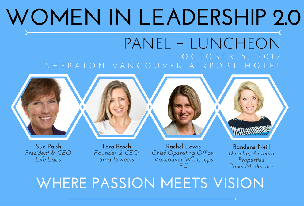 Women in Leadership 2.0 October 5th with the Richmond Chamber of Commerce