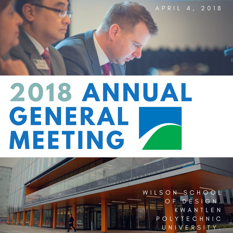 Richmond Chamber of Commerce Annual General Meeting (AGM) April 4th