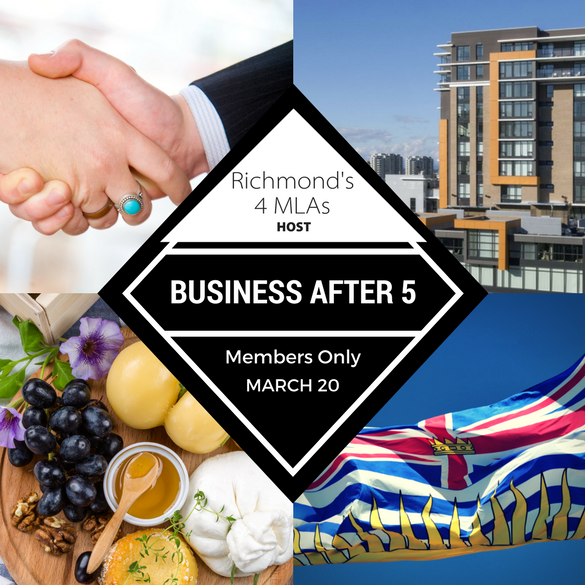 Business After 5 with the 4 Richmond MLAs