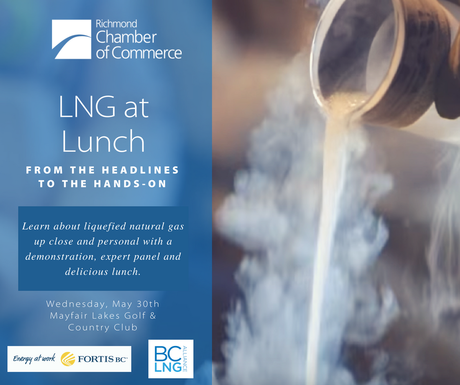 LNG From the Headlines to the Hands-On Demonstration & Luncheon May 30th