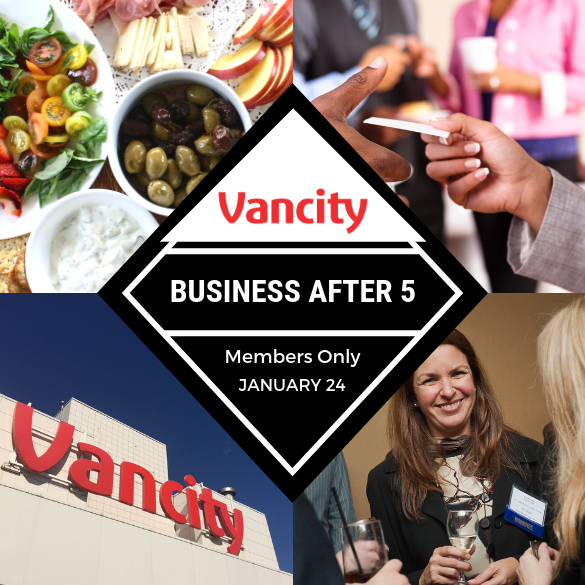 Business After 5 at Vancity Richmond Centre Community Branch