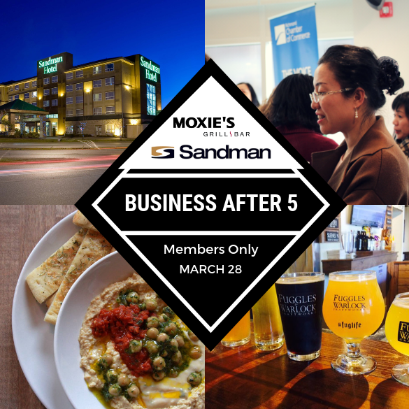 Business After 5 at Moxies Richmond